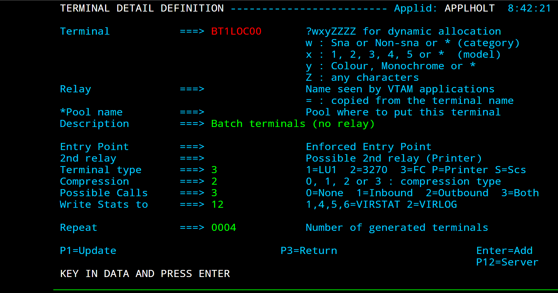 User Guide V4 57 — Virtel 7 documentation